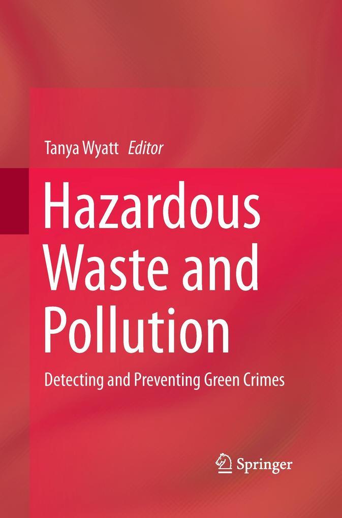 Hazardous Waste and Pollution als Buch von