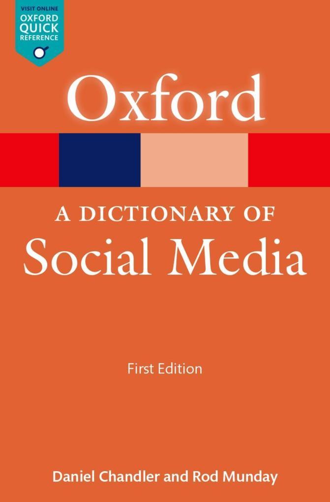 A Dictionary of Social Media als eBook Download...