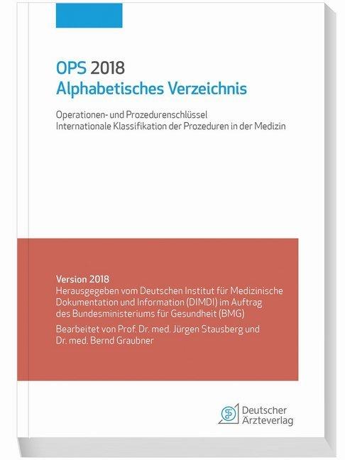 OPS 2018Alphabetisches Verzeichnis als Buch von