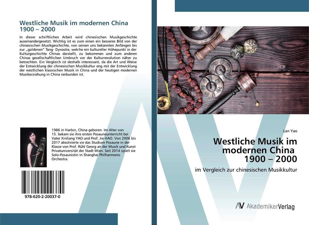 Westliche Musik im modernen China 1900 - 2000 a...