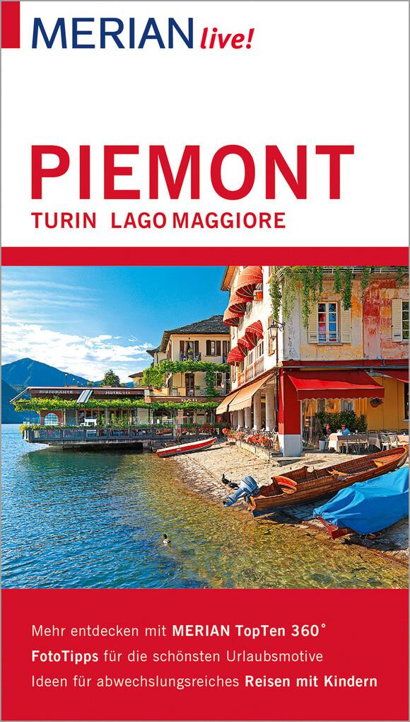 MERIAN live! Reiseführer Piemont Turin Lago Maggiore als eBook