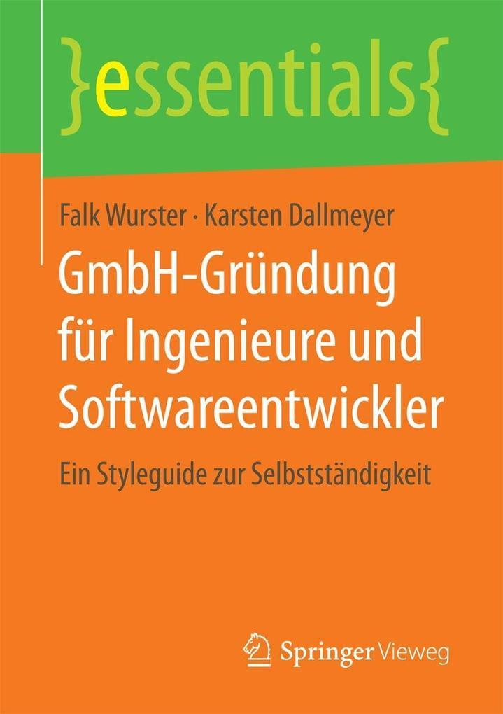 GmbH-Gründung für Ingenieure und Softwareentwic...