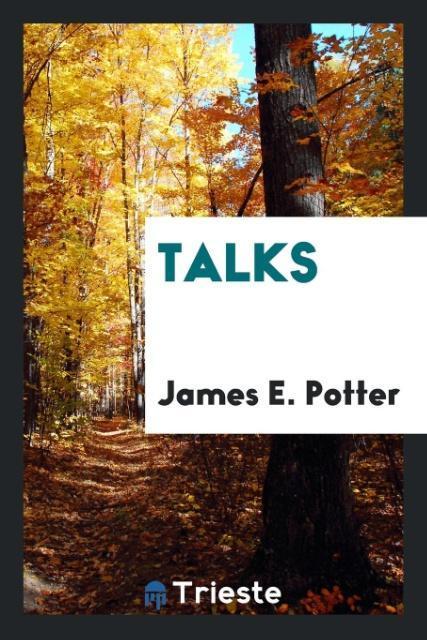 Talks als Taschenbuch von James E. Potter