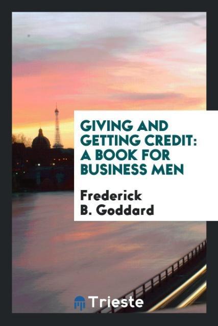 Giving and getting credit als Taschenbuch von F...