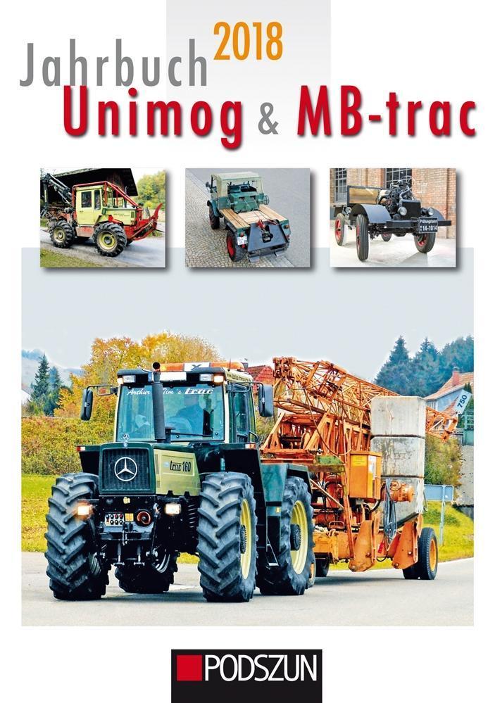 Jahrbuch Unimog & MB-trac 2018 als Buch von