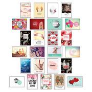 Postkarten Hochzeit - 25 Postkarten Liebe
