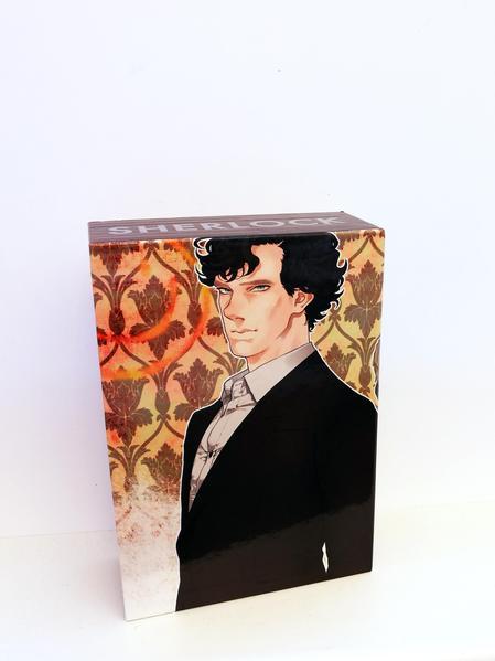 Sherlock 1-3 mit Schuber als Buch