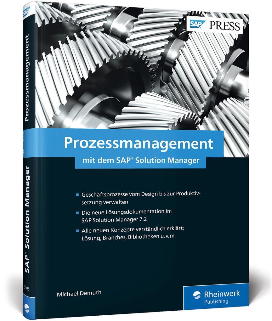 Prozessmanagement mit dem SAP Solution Manager ...