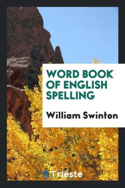 Word Book of English Spelling als Taschenbuch v...