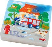 HABA - Holzpuzzle Feuerwehr-Einsatz
