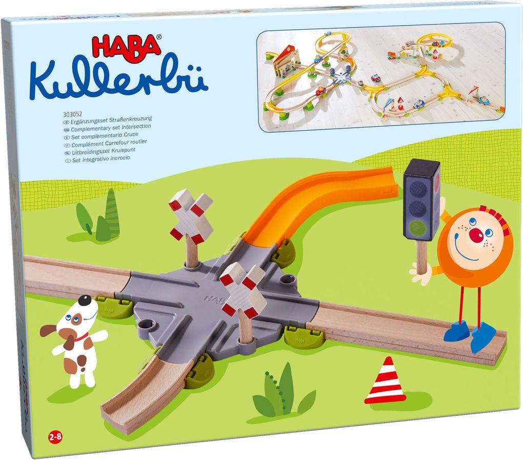 HABA - Kullerbü - Ergänzungsset Straßenkreuzung