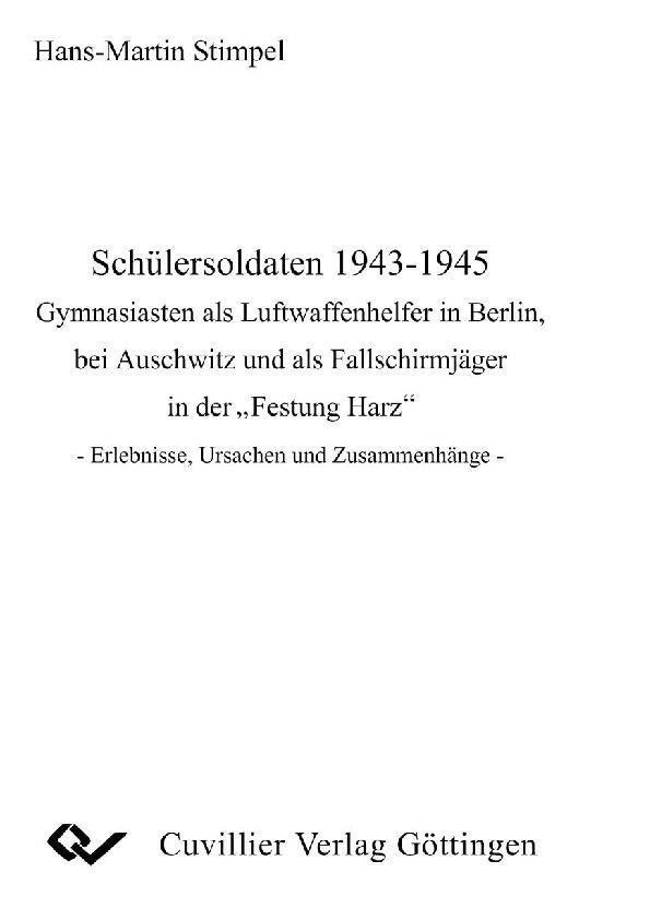 Schülersoldaten 1943-1945 als eBook Download von
