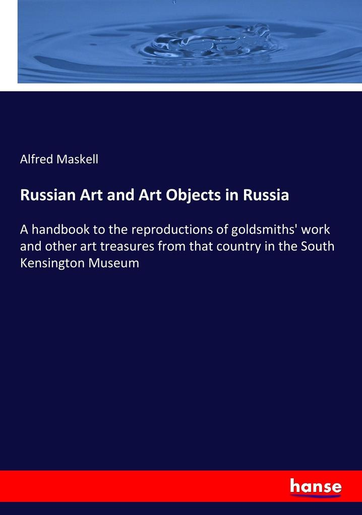 Russian Art and Art Objects in Russia als Buch ...