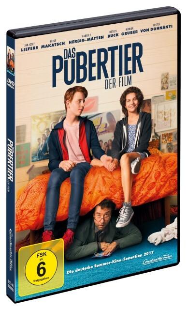Das Pubertier - Der Film als DVD