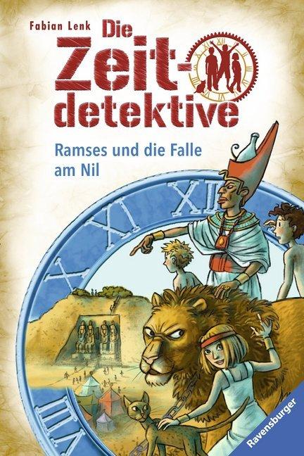 Die Zeitdetektive 38: Ramses und die Falle am Nil als Buch