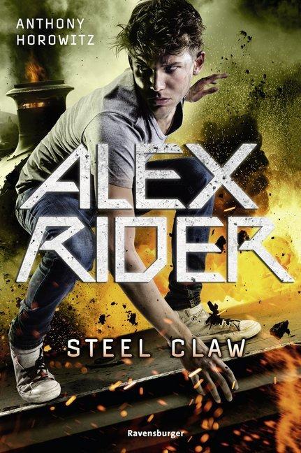Alex Rider 11: Steel Claw als Buch (gebunden)