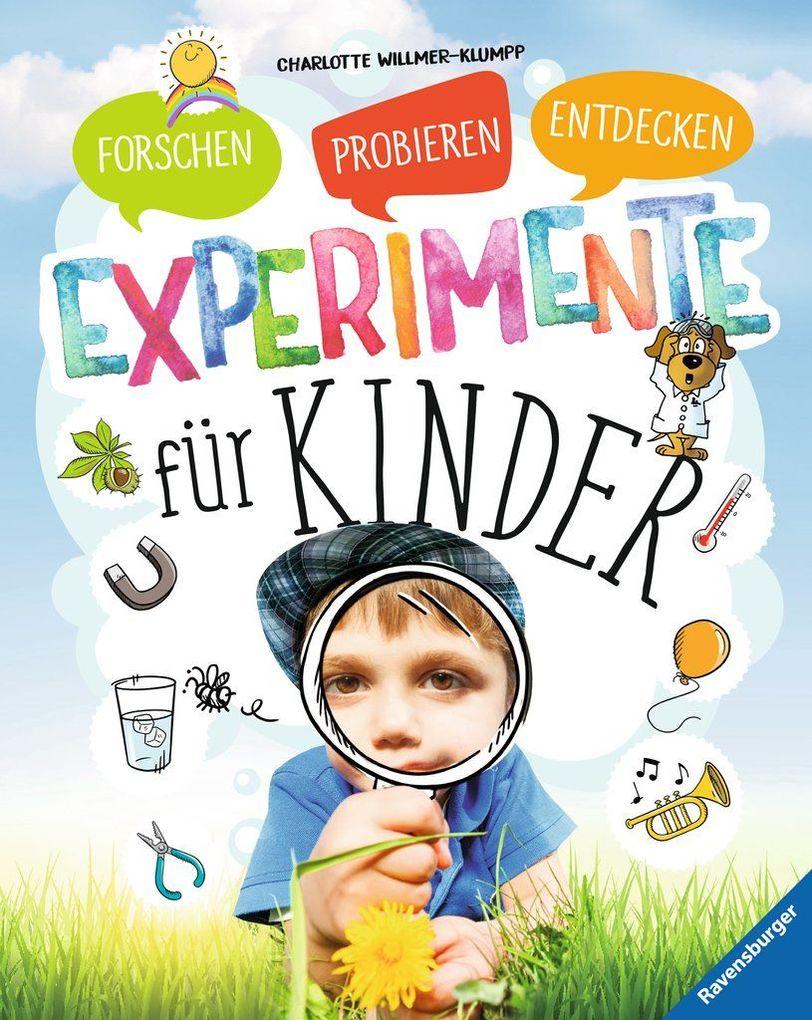 Experimente für Kinder als Buch