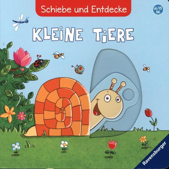 Schiebe und Entdecke: Kleine Tiere als Buch (kartoniert)