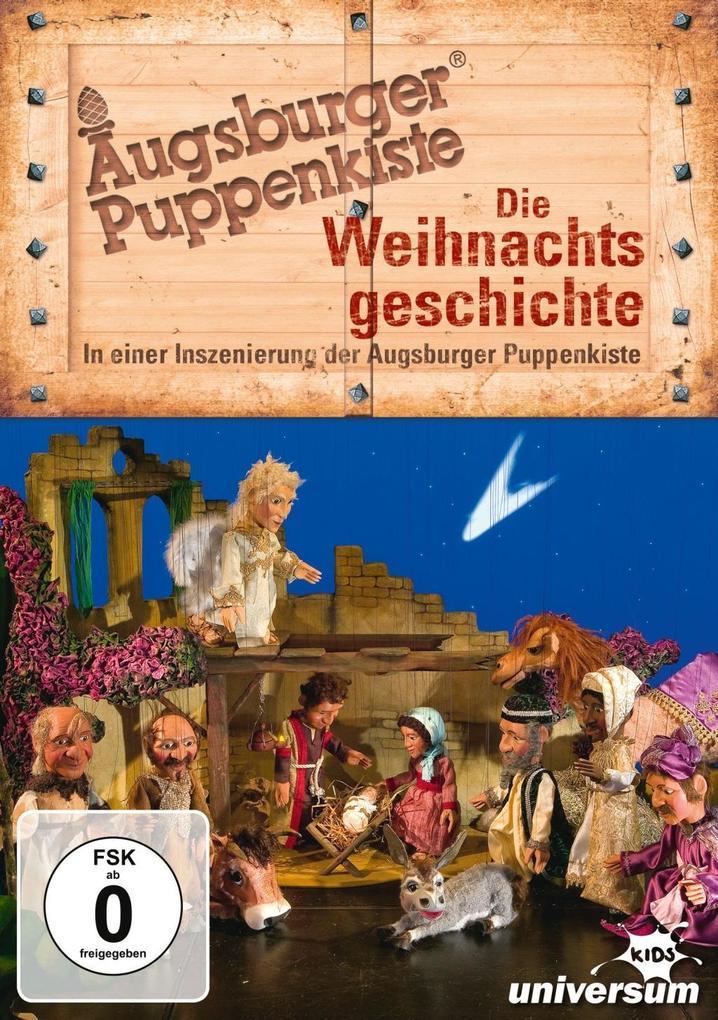 Augsburger Puppenkiste: Die Weihnachtsgeschichte als DVD