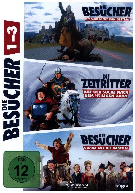 Die Besucher DVD-Box als DVD