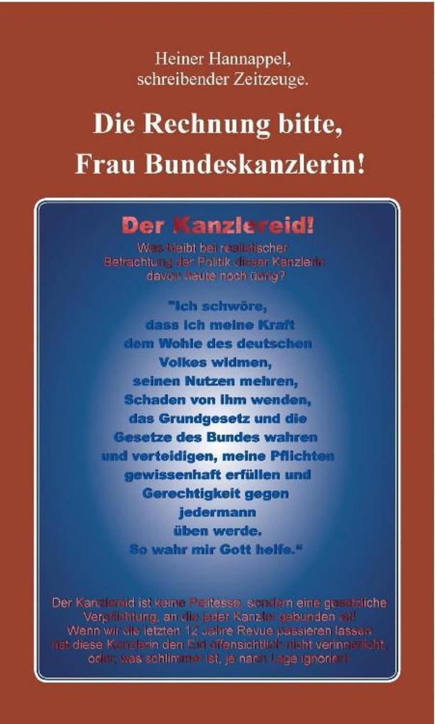 Die Rechnung bitte, Frau Bundeskanzlerin! als eBook epub