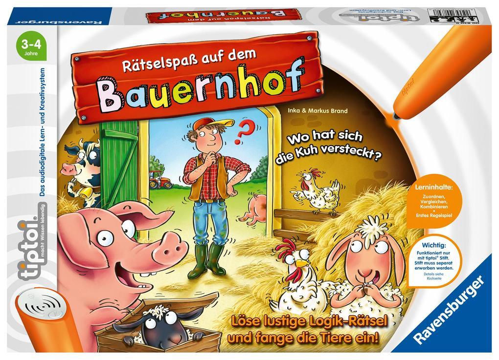 tiptoi® Rätselspaß auf dem Bauernhof als Spielwaren