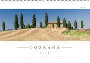 TOSKANA 2018 - Panoramakalender (Wandkalender 2018 DIN A2 quer)