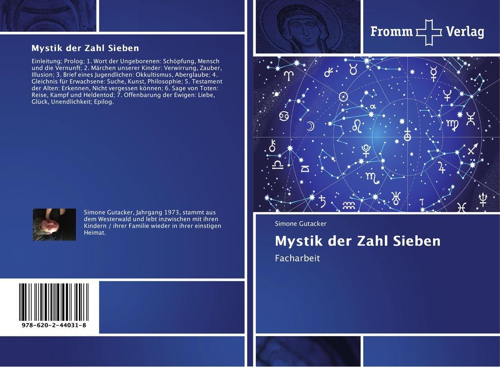 Mystik der Zahl Sieben als Buch von Simone Guta...