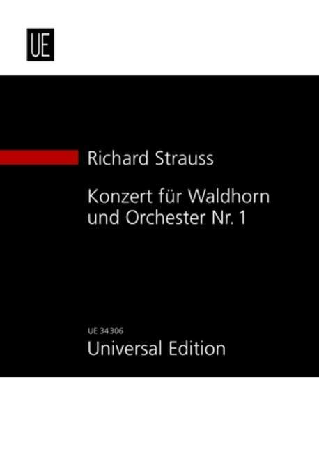 Konzert für Waldhorn und Orchester Nr. 1 als Bu...