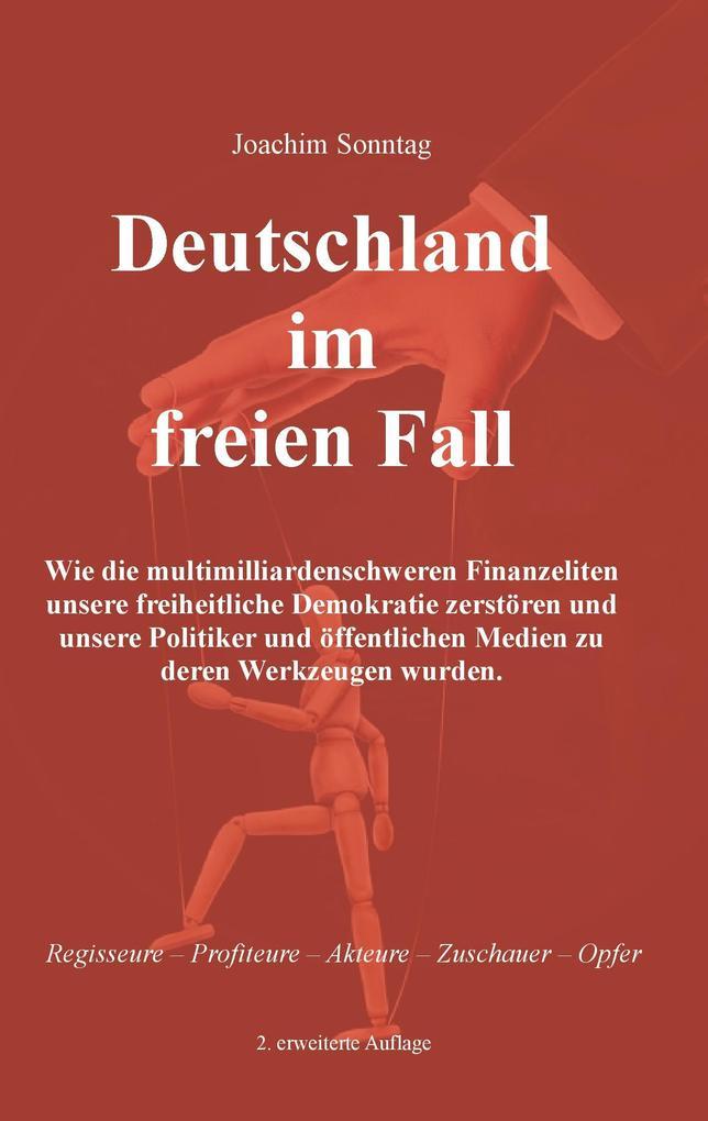 Deutschland im freien Fall als Buch von