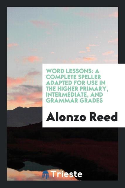 Word Lessons als Taschenbuch von Alonzo Reed