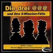 Die drei @@@ (Die drei Klammeraffen), Staffel 1, Folge 5: Die drei @@@ und das Canyonmonster