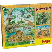 HABA - Puzzles Wilde Tiere in Afrika
