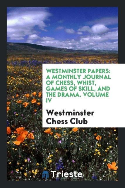 Westminster Papers als Taschenbuch von Westmins...