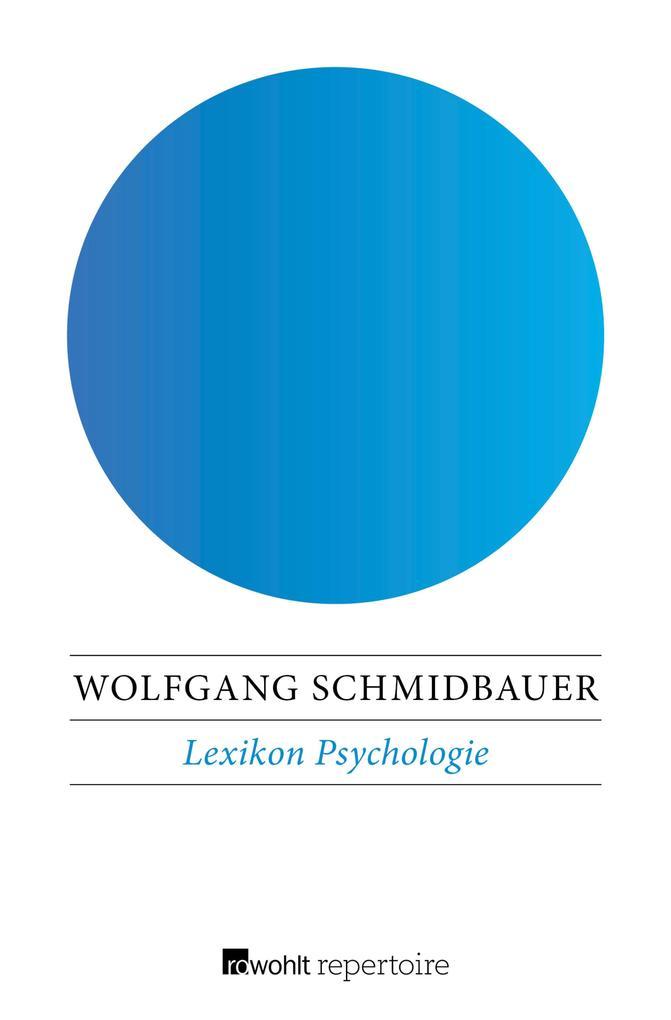 Lexikon Psychologie als eBook Download von Wolf...