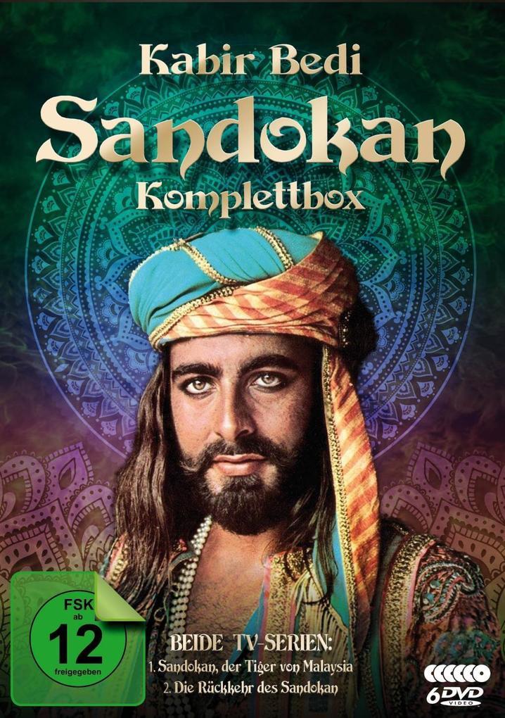 Sandokan - Komplettbox (Der Tiger von Malaysia ...