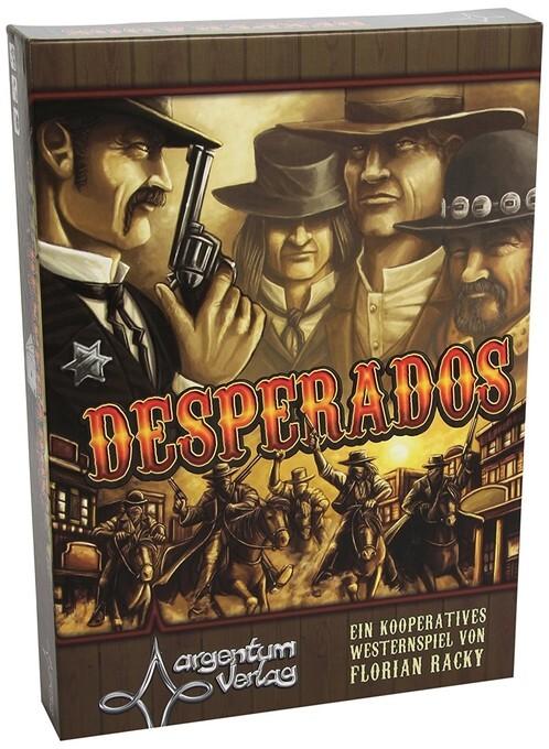 Argentum ARG00014 - Desperados, Brettspiel, Wes...