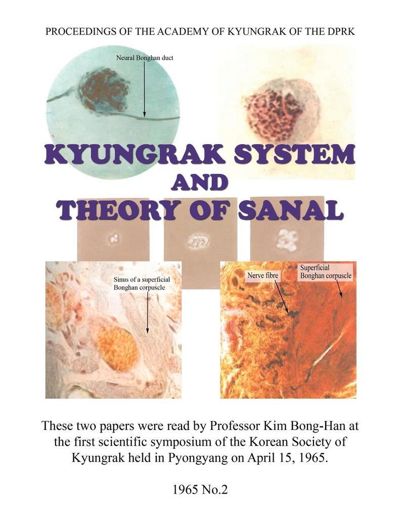 Kyungrak System and Theory of Sanal als Taschen...