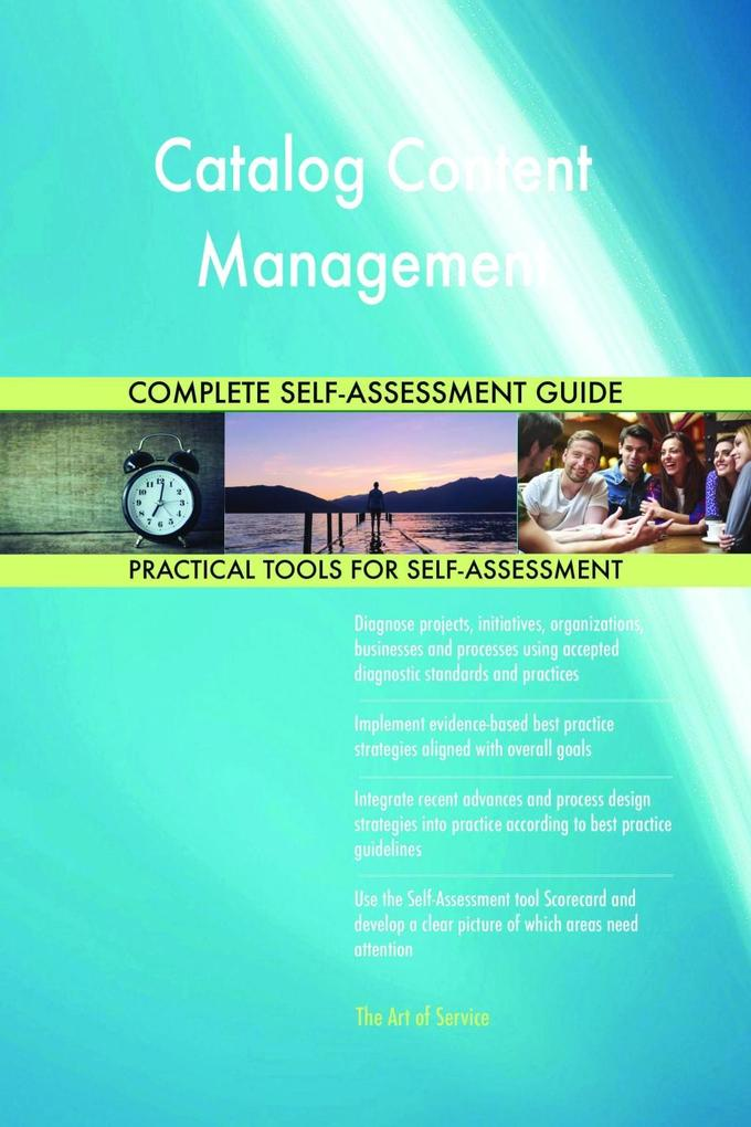 Catalog Content Management Complete Self-Assess...