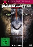 Planet der Affen Triologie, 3 DVDs