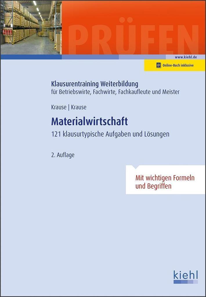 Materialwirtschaft als Buch von Günter Krause, ...