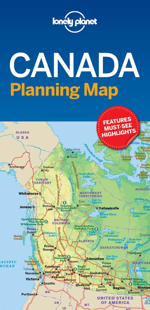 Canada Planning Map (Buch) - portofrei on