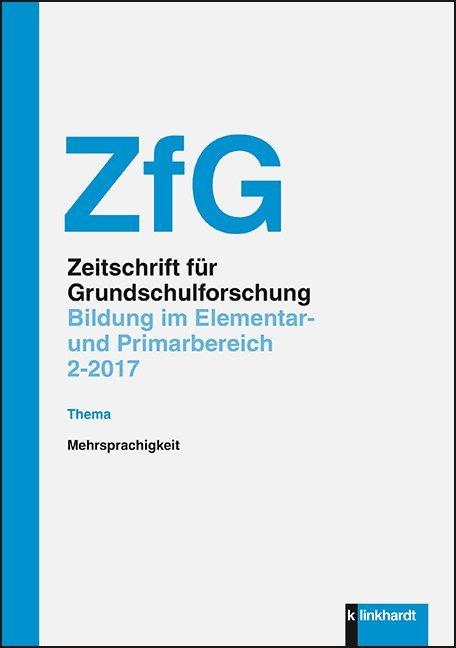 Zeitschrift für Grundschulforschung als Buch von