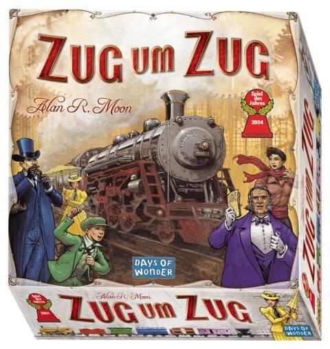 Image of SPIEL DES JAHRES 2004 - Zug um Zug