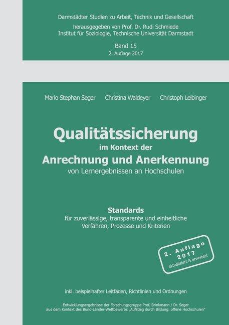 Qualitätssicherung im Kontext der Anrechnung un...