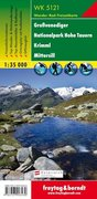 Großvenediger, Nationalpark Hohe Tauern, Krimml, Mittersill 1 : 35 000