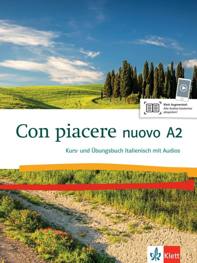 Con piacere nuovo A2. Kurs- und Übungsbuch + MP3-CD als Buch