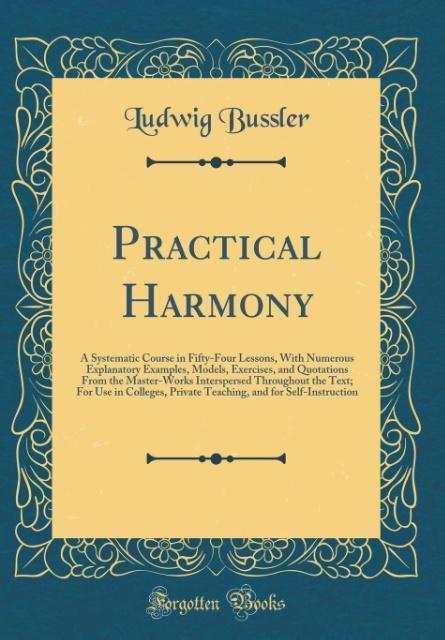 Practical Harmony als Buch von Ludwig Bussler