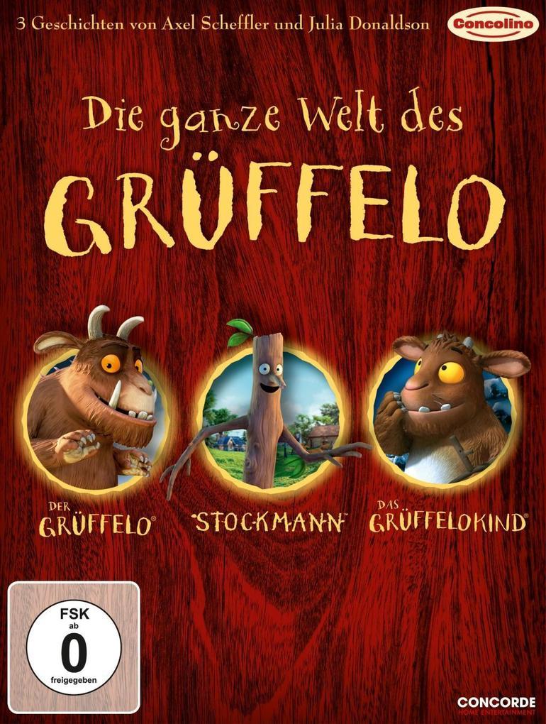 Die ganze Welt des Grüffelo als DVD
