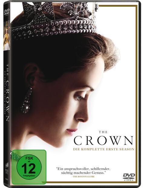 The Crown als DVD
